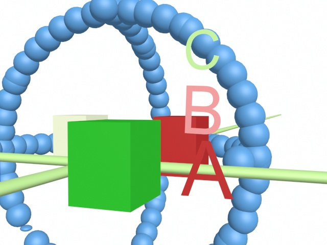 A picture containing cable, tripod, abacus, object  Description automatically generated