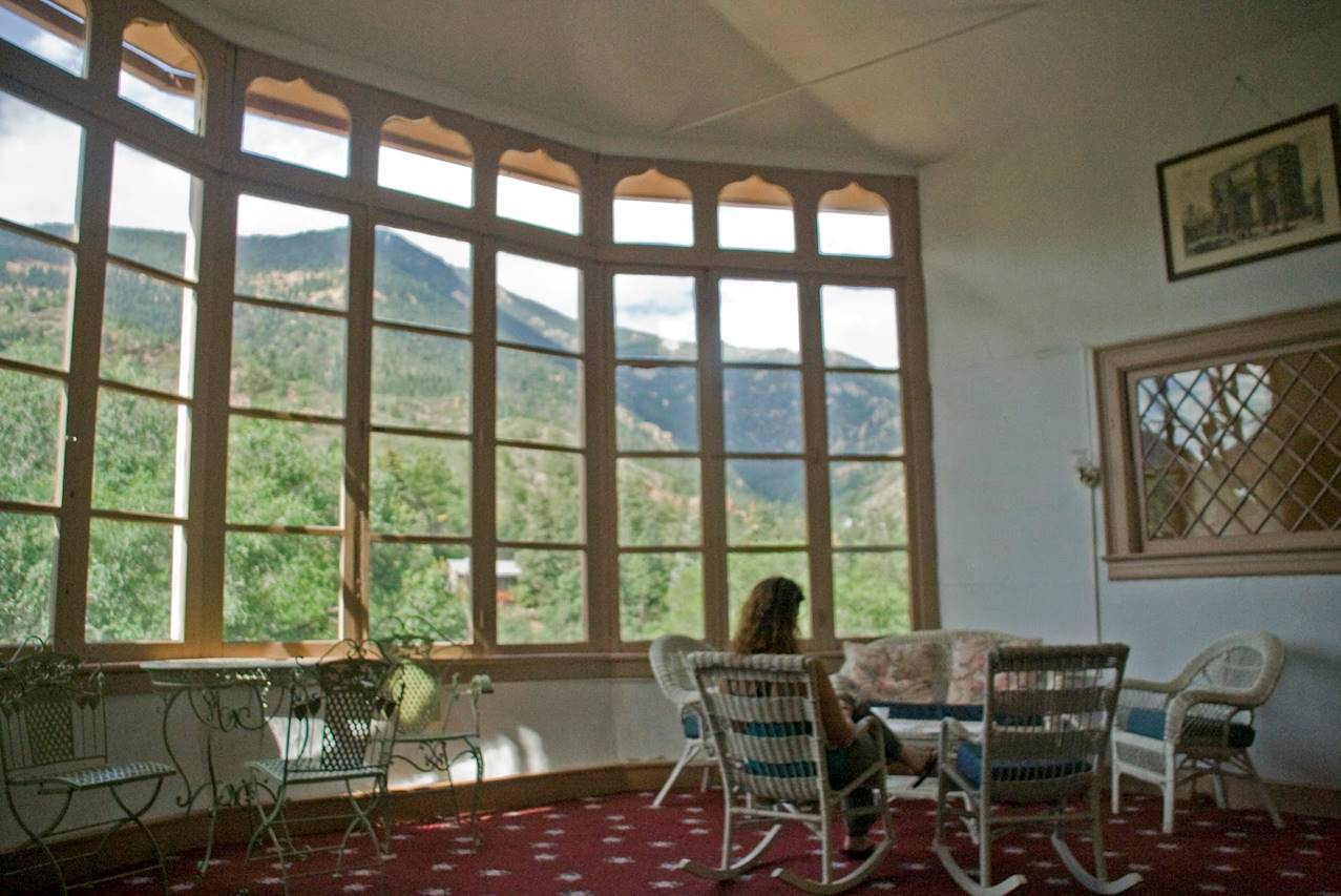 Image result for glass room miramont castle