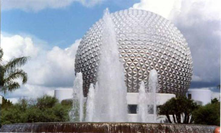 Image result for epcot fountain