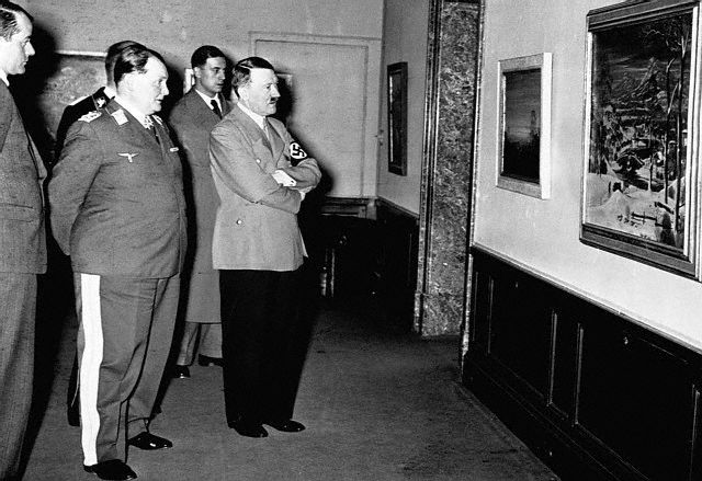 Image result for Adolf Hitler in the louvre